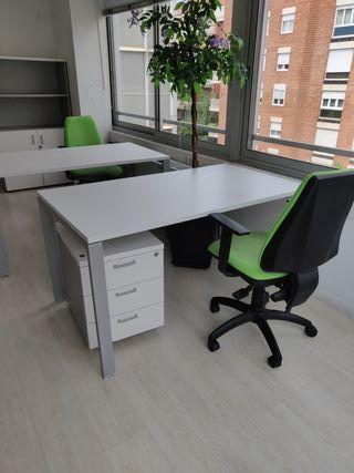25 Mesas de oficina 1'40*80