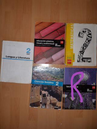 Libros 2º ESO (Cáceres - Diocesano)