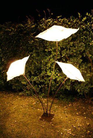 Lámpara de jardín eventos
