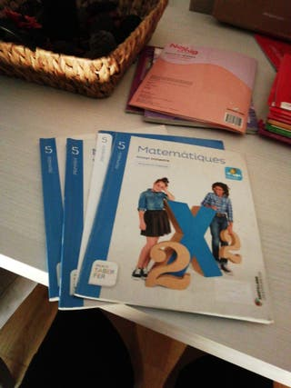 SANTILLANA libros de matemáticas 5 de primaria