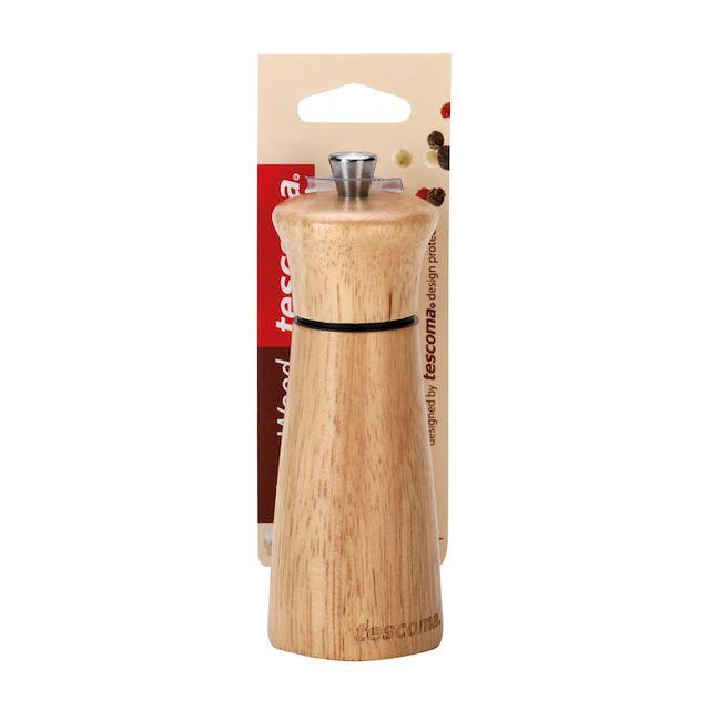 Molinillo Pimienta Sal 18cm Virgo Wood