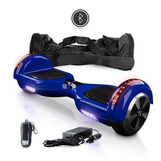 """Hoverboard 6,5"""" azul NUEVO Patinete eléctrico luz"""