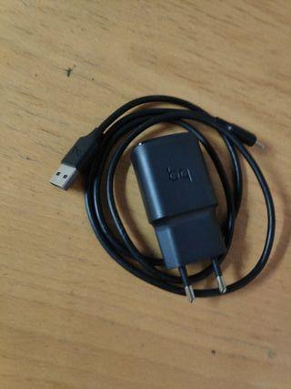 ef9d850382b Cargador original de Samsung , carga rápida con conexión tipo C · cargador  rápido BQ conexión ...