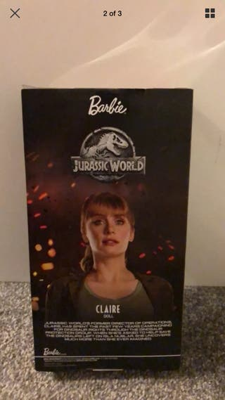 Jurassic World x Barbie Claire Doll Collectable