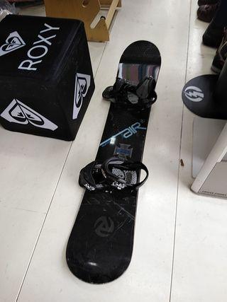 Snowboard Burton 157 con fijaciones Burton