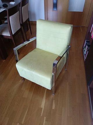 sillón, silla, butaca