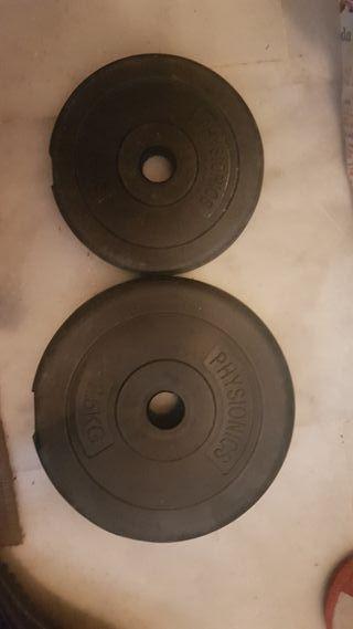 discos pesas (precio cojunto)