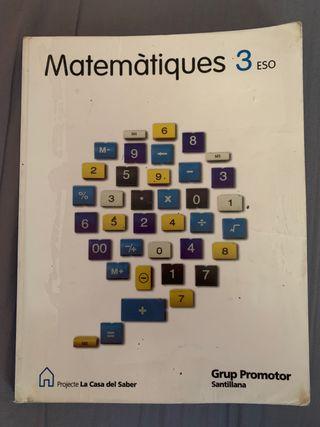 Libro Matemáticas 3o ESO
