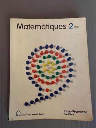 Libro Matemáticas 2o ESO