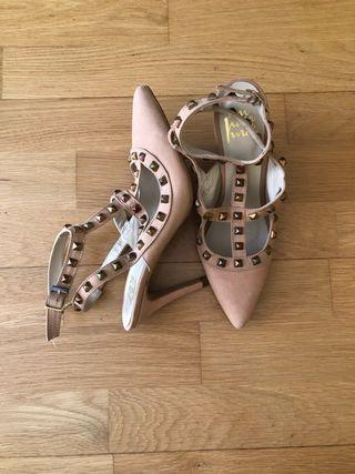 Zapatos tacón 38