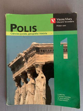 Libro Ciencias sociales, geografía e historia