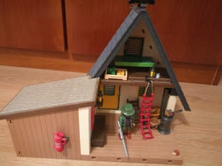 Parque infantil y Heladería Playmobil