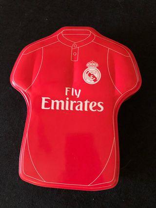 Caja Metalica Real Madrid