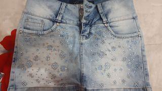 falda short colombiano