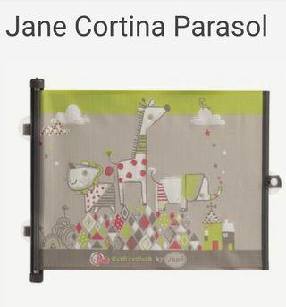 Cortina parasol jane sin estrenar, en caja y plast