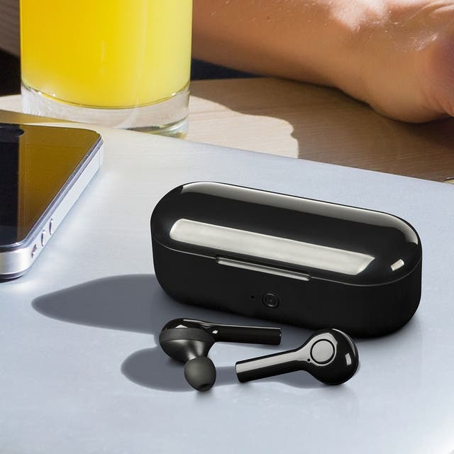 Auriculares Inalámbricos base carga Iphone Samsung