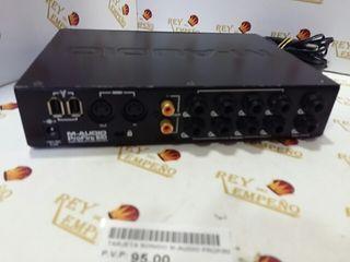 Tarjeta sonido m-audio profire 610