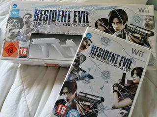 Resident Evil Darkside Chronicles Wii Zapper