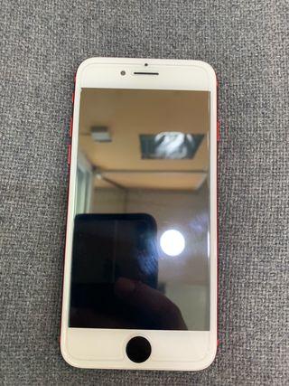 Iphone 7 rojo. 256GB.