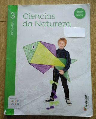 Ciencias da Natureza. Santillana. Tercero de Prima