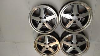 Llantas Audi S2 16 pulgadas originales