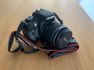 Canon EOS 600d, objetivo 18-55 mm