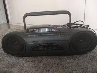 radio cassette doble pletina