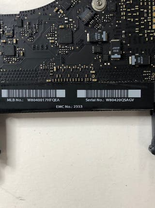 Placa base macbook NO TESTEADA