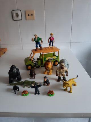 Muñecos Safari