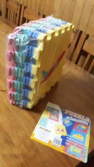 Puzzle suelo niños
