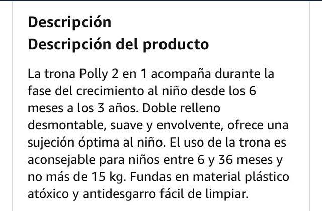 Trona Chicco Polly 2 en 1