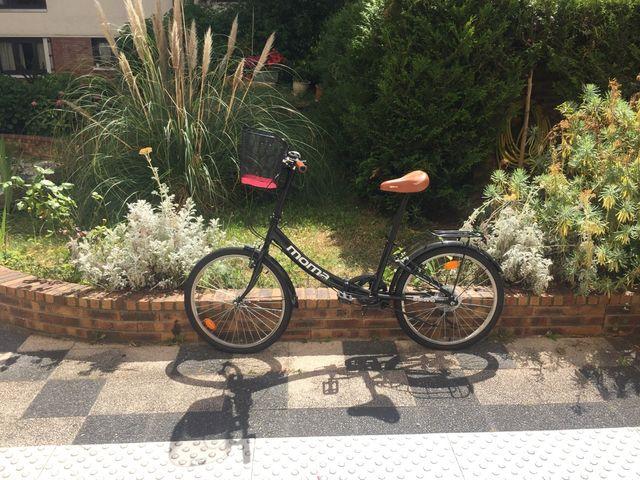 Vélo de ville pliable