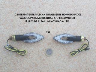intermitentes led flecha homologados