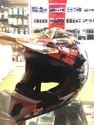 Casco motocross ls2 blast