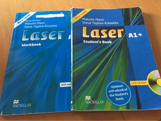 Libro de inglés Laser A1+