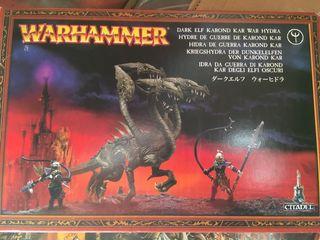 Hidra de guerra elfos oscuros Warhammer