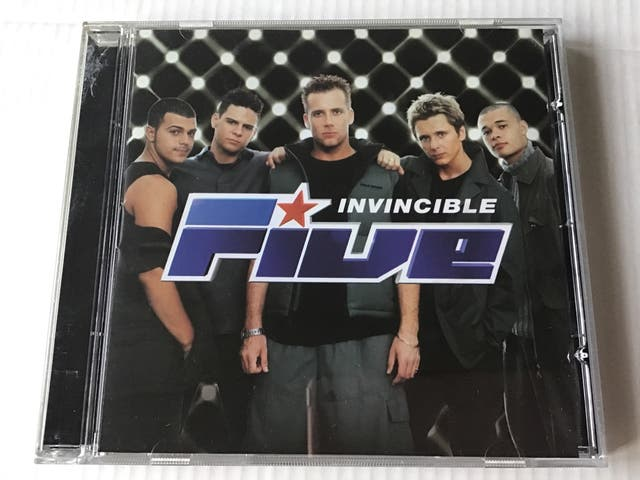 FIVE CD INVINCIBLE