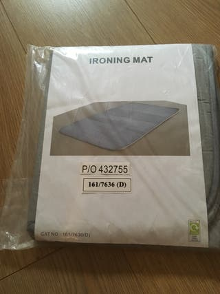 Unused ironing mat