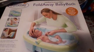 Bañera bebe plegable
