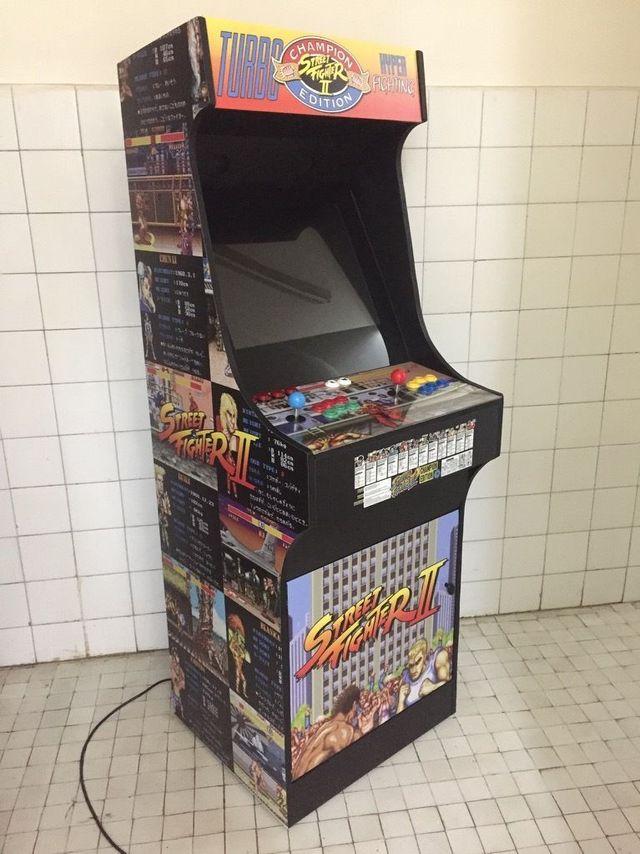 Maquina Recreativa Arcade Tamaño Completo
