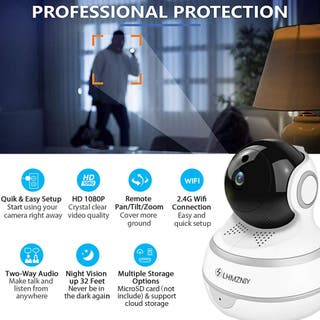 Cámara de Seguridad para el hogar con WiFi FullHD
