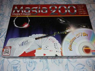 juego de magia con DVD