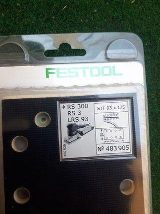 Base lijadora Festool RS300