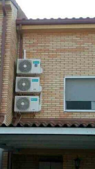 se instala aire acondicionado