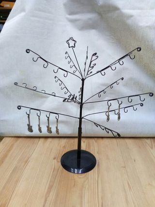 colgador de joyas árbol
