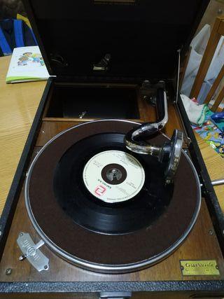 Gramola Gramofono siglo XX