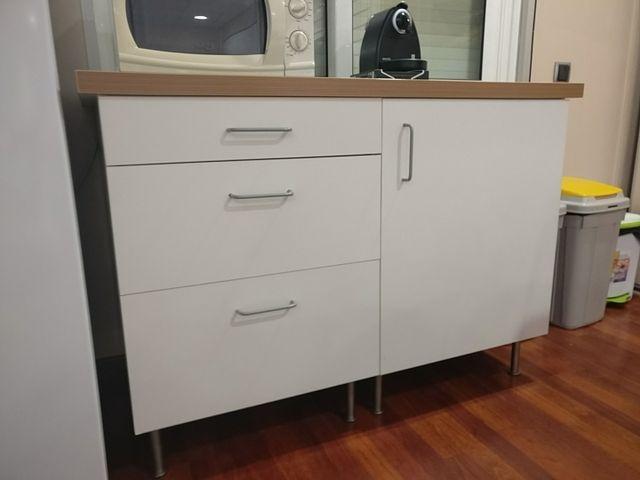 Mueble auxiliar de cocina IKEA de segunda mano por 59 € en Barcelona ...