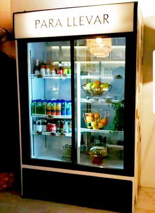 Nevera de bebidas 2 puertas de cristal