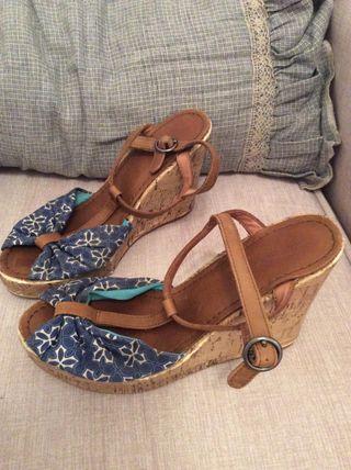 Zapatos para mujer con plataforma de segunda mano en