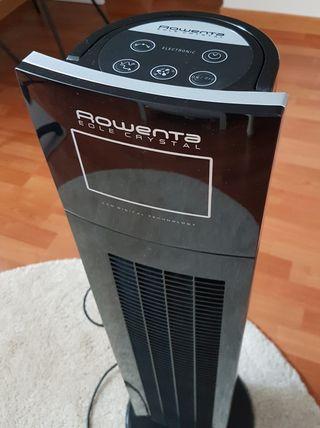 Ventilador torre Rowenta Eole Crystal LCD VU6550